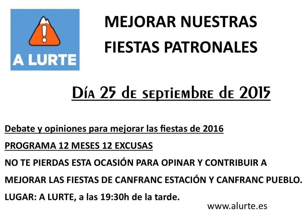 Cartel Alurte-Fiestas